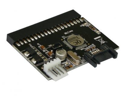 IDE / S-ATA Adapterplatine mit Stromversorgung