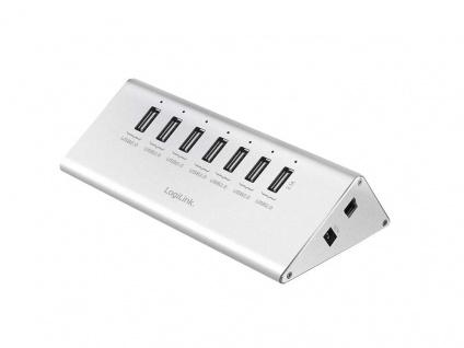 USB 2.0 Hub 7-Port mit Netzteil, LogiLink® [UA0225]