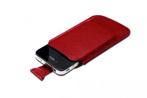 Digitus® Ledertasche für das iPhone 4 und die iPod Touch-Serie, rot [DA-14005]