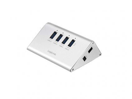 USB 3.0 Hub 4-Port mit Netzteil, LogiLink® [UA0227]