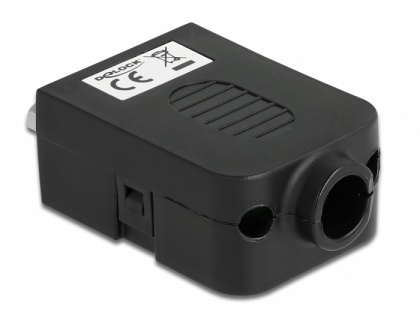 Adapter Sub-D 9 Pin Buchse an Terminalblock 10 Pin mit Gehäuse, Delock® [66265]