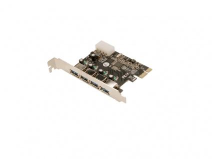 PCI Express Karte, 4x USB 3.0, LogiLink® [PC0057A]