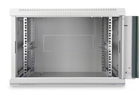 19' Wandgehäuse Dynamic Basic Serie, 12HE 638x600x450mm, grau, Digitus® [DN-19 12-U-EC]