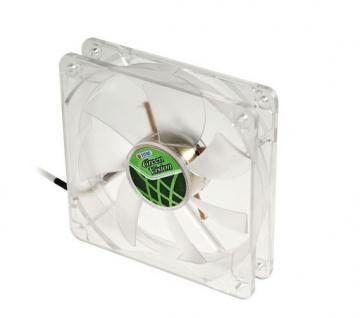 Lüfter, Green Vision, 120x120x25mm, transparent, Titan® [TFD-12025GT12Z/V2(RB)]