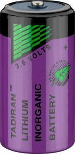 Lithium-Thionylchlorid Batterie, C (Baby), ER26500, 3, 6V, 8500mAh, Tadiran® [SL-2770/S]