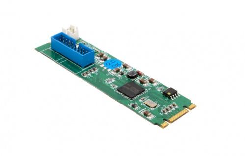 1-Port USB 3.1 Gen.2 zu M.2 NFGG Karte, Exsys® [EX-48274]