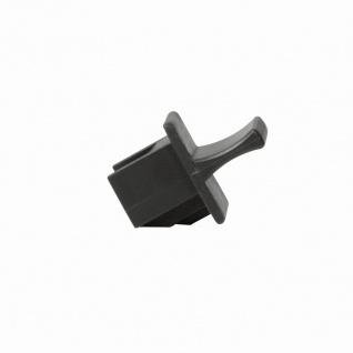 Schutzkappe und Staubschutz für RJ45-Buchsen, 100 St., schwarz, LogiLink® [MP0060]