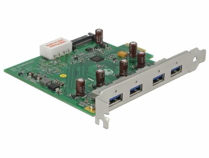 USB 3.0 PCI Express Karte zu 4 x extern Type-A, Delock® [89323]