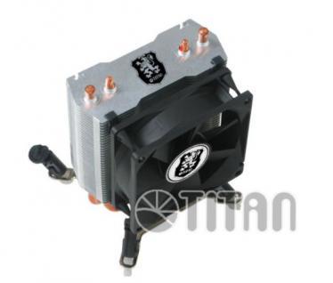 CPU-Kühler, Dual-Heatpipes, Titan® [TTC-NC65TX(RB)]