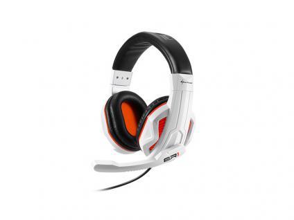Headset Rush Gaming Core, schwarz/weiß, Sharkoon®