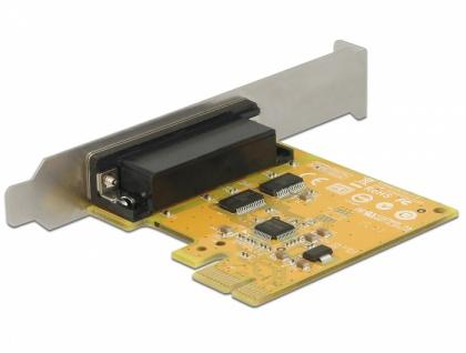 PCI Express Karte > 2 x Seriell RS-232 High Speed 921K ESD Überspannungsschutz, Delock® [62996]