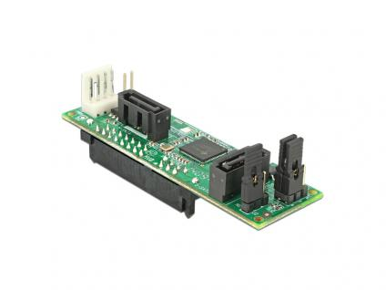 Konverter SATA Host an 2 x SATA Device mit RAID, Delock® [62466]