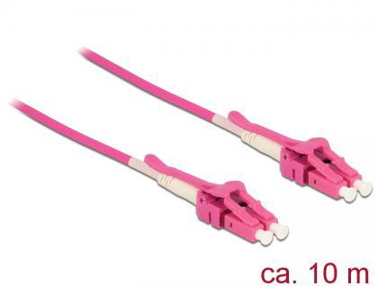 Kabel Lichtwellenleiter LC an LC Multimode OM4, Uniboot, 10m, Delock® [85136]
