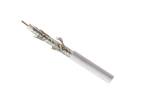 Koaxialkabel SAT, BZT - CE DIGITAL CCS > 125 dB, 5-fach geschirmt, auf Plastik Spule, 100m, Good Connections®