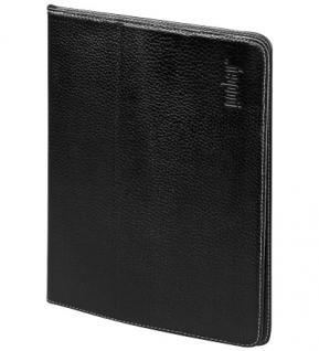 Ultra flaches Klappetui, Tischständerfunktion, Echtleder, für iPad 2, Good Connections®