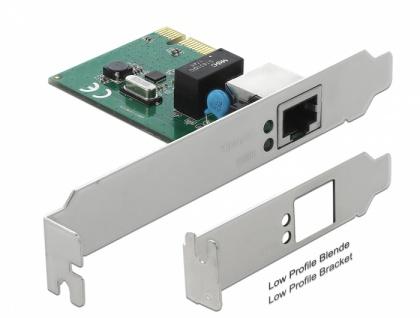 PCI Express Karte 1x Gigabit LAN, Delock® [90381]