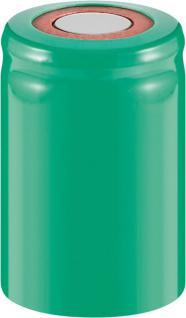 Werkzeugakku, Ersatzakku für schnurlose Elektrowerkzeuge, 4/5 Sub-C, PVC-Mantel, Flat-Top, 1, 2V, 2000mAh, Ni-MH