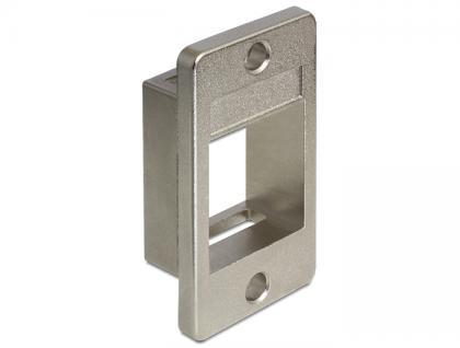 Keystone Halterung für Geräteeinbau, Delock ® [86213]