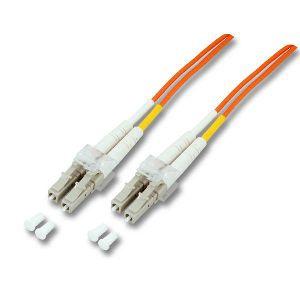 kabelmeister® Patchkabel LWL Duplex OS2 (Singlemode, 9/125) LC-APC/LC, 0, 5m