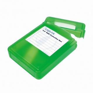 Festplatten Schutz-Box für 3, 5' HDDs, Grün, LogiLink® [UA0133G]