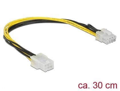 PCI Express Stromkabel 6 Pin Buchse > 8 Pin Stecker 30 cm, Delock® [85535]