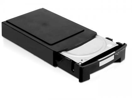 2 x Aufbewahrungsboxen für 3.5 HDDs stapelbar, Delock® [61970]