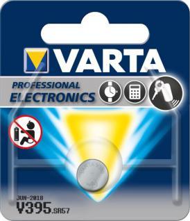 Varta® Knopfzelle (V395) Silberoxid-Zink, SR57, 1, 55V, 42mAh