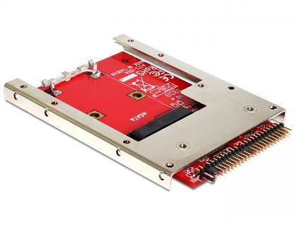 Konverter IDE 44 Pin an mSATA mit 2, 5' Rahmen (7 mm), Delock® [62495]