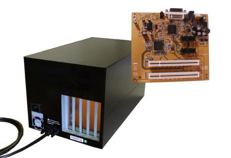 2 x PCI - 2 x PCIe Slot?s für lange Karten und internem 220W Netzteil Expansion Box, Exsys® [EX-1041]