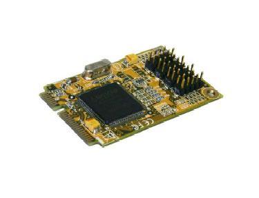 4S Seriell RS-232 Mini PCIe Karte (MosChip), Exsys® [EX-48024]