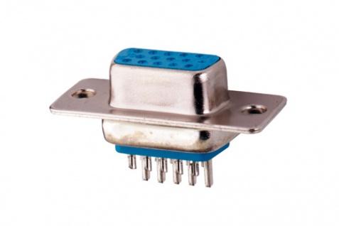15pol VGA SubD Buchse Lötversion, Good Connections®
