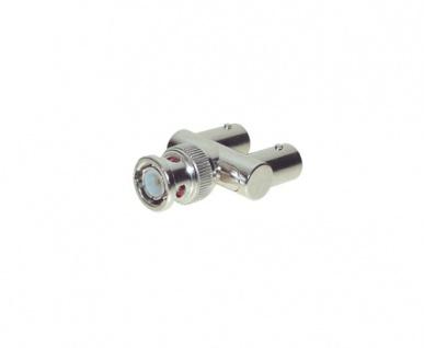 kabelmeister® BNC Adapter Stecker-Buchse-Buchse GABEL-FORM