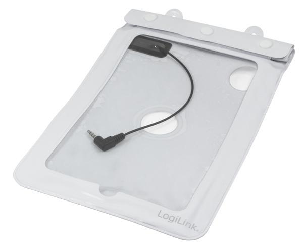 Strand Tasche für 7' Tablets, weiß, LogiLink® [AA0038W]