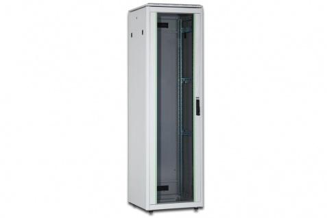 Netzwerkschrank 32HE, 1609x600x800mm (HxBxT), RAL 7035, lichtgrau, Digitus® [DN-19 32U-6/8-1]