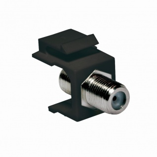 Keystone Verbinder F-Buchse an F-Buchse, 75 Ohm, LogiLink® [NK0018B]