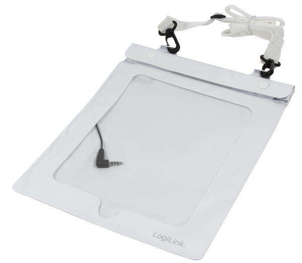 Strand Tasche für 10' Tablets, weiß, LogiLink® [AA0037W]