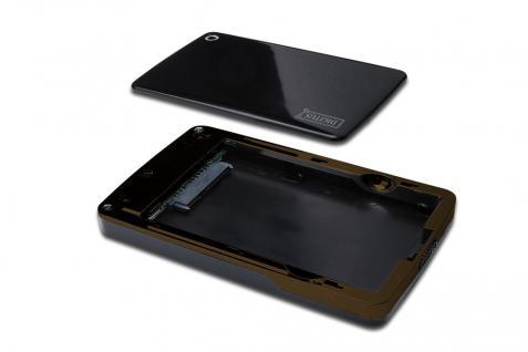 Externes Laufwerksgehäuse 2.5, USB 3.0 SATA, für SATA HDD 2.5, ohne Netzteil Digitus design, Chipsat:JMS539B Digitus® [DA-71030]
