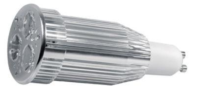 Power-LED, 9W, 230V, 350 lm, 3000K, (warmweiß), nicht dimmbar, A, 45° Abstrah...