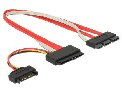 SATA Express Stecker an SATA Express Stecker, 0, 3m, Delock® [84767]