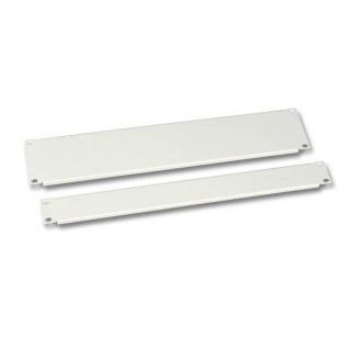 Blindplatte 19'/3HE RAL7035