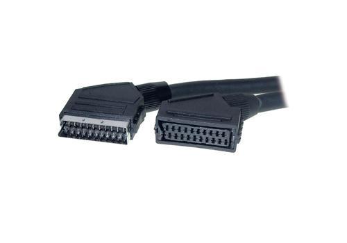 Verlängerungskabel Scart Stecker an Buchse, 10m, Good Connections®