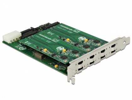 PCI Express x8 Karte an 8x extern USB-C™, Delock® [90308]