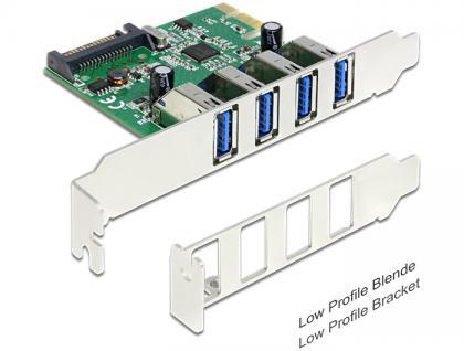 PCI Express Karte > 4 x USB 3.0, Delock ® [89360]