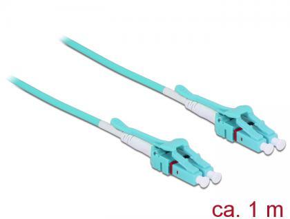 Kabel Lichtwellenleiter LC an LC Multimode OM3, Uniboot, 1m, Delock® [85127]