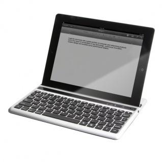 Tastatur für iPad® 2/the new iPad®, via Bluetooth, LogiLink®, [ID0107]