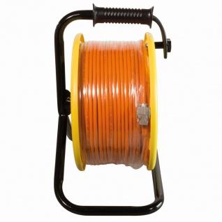 CAT.7A 1200 MHz Netzwerkkabel auf Trommel, mit Cat.6A RJ45 Anschlussbuchsen, 90m, orange, LogiLink® [CQ5090S]