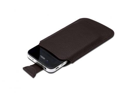 Digitus® Ledertasche für das iPhone 4 und die iPod Touch-Serie, braun [DA-14006]