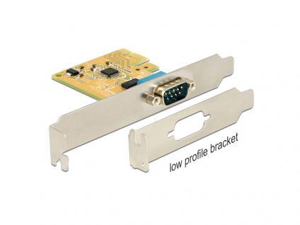 PCIe x1 Seriell 1x + Low profil, Delock® [89444]