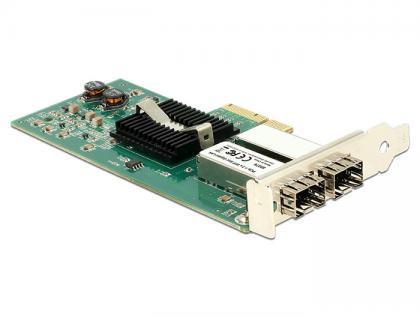 PCI Express Karte an 2 x SFP Slot Gigabit LAN, Delock® [89376]