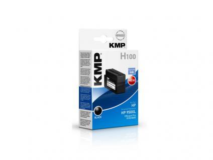 KMP Tintenpatrone ersetzt HP 950XL, für HP OfficeJet Pro 276 dw, schwarz